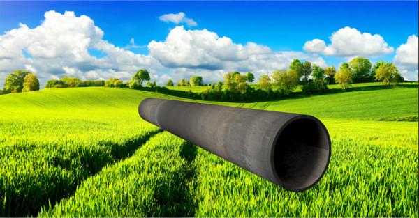 Stahl-Rundrohr ∅57mm, Wandstärke: 2,6mm