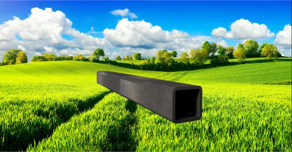 Stahl-Vierkantrohr 45x45mm, Wandstärke: 4,0mm