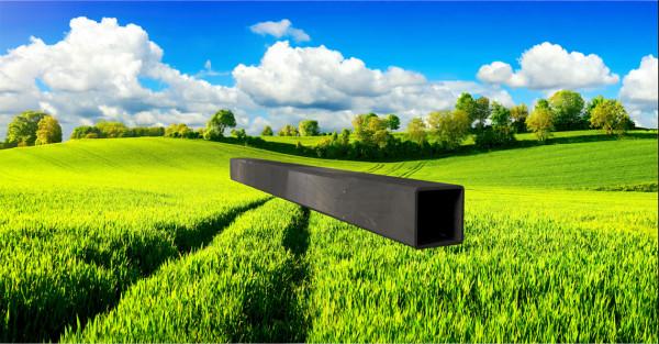 Stahl-Vierkantrohr 35x35mm, Wandstärke: 2,0mm