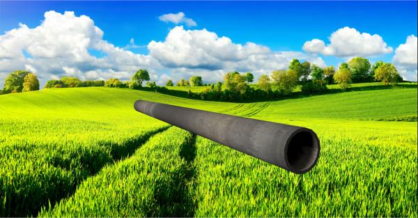 Stahl-Rundrohr ∅26,9mm, Wandstärke: 2,0mm