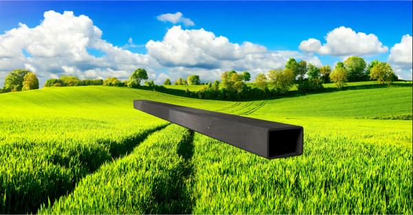 Stahl-Vierkantrohr 30x20mm, Wandstärke: 1,5mm