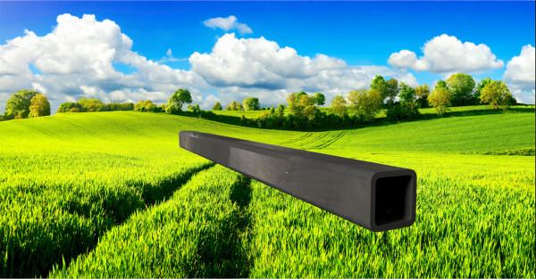 Stahl-Vierkantrohr 30x30mm, Wandstärke: 3,0mm